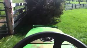 mowing with john deere 2305 youtube