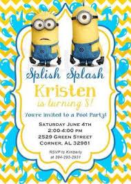 10 spongebob birthday invitations with envelopes by bethcloud723