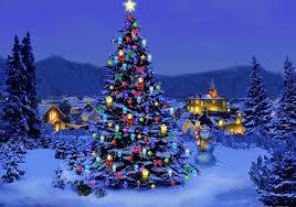 Christmas Decorations Snow Tree by Beautiful Christmas Tree Snows U2013 Happy Holidays
