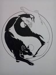 yin yang wolf by summerwolfdreams on deviantart