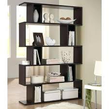 designer shelves decoration designer shelves studio dark brown wood tier open shelf