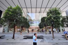 interior of u0027apple orchard road u0027 in singapore unveiled ahead of