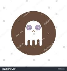 icon halloween vector illustration flat design halloween icon stock vector