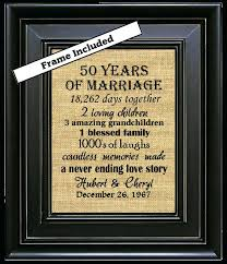 gift for 50th wedding anniversary 50th wedding anniversary gifts etsy 50th wedding anniversary gifts