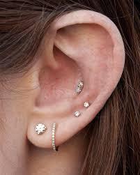 awesome cartilage earrings ear piercings diagram images diagram design ideas