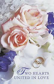 Wedding Bulletins Wedding Bulletin Two Hearts United In Love Lifeway Christian