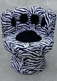 Zebra Chair And Ottoman Zebra Chair Zebra Chair And Ottoman Zebra Chair And Ottoman Zebra