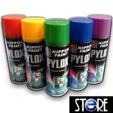 qoo10 nippon paint pylox spray paint solid colours 01 tools