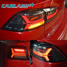 mitsubishi evo red and black led black smoked tail lights for mitsubishi lancer evo x 2008
