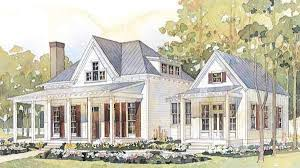 Southern Farmhouse Home Plan Impressive Southern Cottage House Plans Bright Design Home Design Ideas