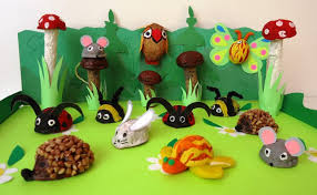 Seashell Craft Ideas For Kids - walnut shell crafts 2 funnycrafts