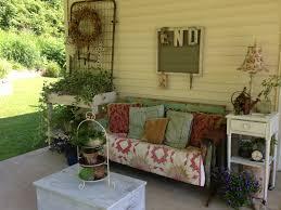 my shabby cottage style porch vintage style porch inspiration