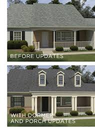 False Dormer Simplify Your Exterior Makeover Project