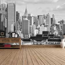 hudson river new york self adhesive wallpaper by the binary box