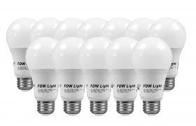 60 watt equivalent slimstyle a19 led light bulb soft white 3000k