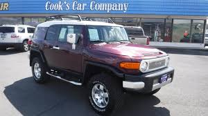 fj cruiser price 2007 toyota fj cruiser trd off road edition two tone with