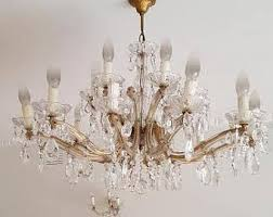 Crystal Parts For Chandeliers Crystal Bobeche Etsy