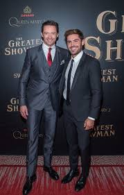 The Greatest Showman Hugh Jackman And Zac Efron At The Greatest Showman Premiere