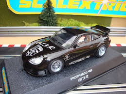 rare porsche 911 c2360 complete boxed rare black scalextric porsche 911 gt3r with