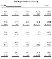 print out maths sheets bluebonkers subtraction math worksheet digit subtraction p4