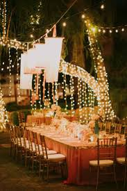 outdoor wedding lighting ideas sacharoff decoration