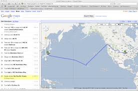 Usa Google Maps by Reasons You Should Not Kayak Across The Pacific Ocean