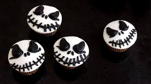 Halloween Jack Skeleton by How To Make Halloween Jack Skellington Cupcake Toppers