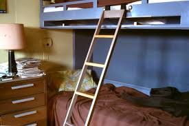 Wood Bunk Bed Ladder Only Wonderful Basic Wood Bunk Or Loft Bed Ladders Bunk Bed Ladders
