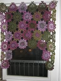 Crochet Designs Flowers Best 25 Crochet Curtain Pattern Ideas On Pinterest Crochet
