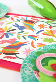 Mexican Table Runner Printable Mexican Otomi Table Runner Damask Love
