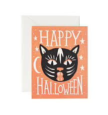 Halloween Usa Com by Black Cat Halloween Greeting Card By Rifle Paper Co Made In Usa