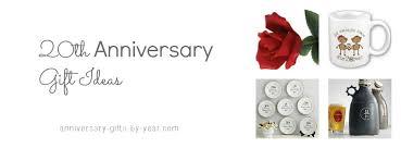 20th wedding anniversary gift ideas 27 gift ideas for 20th wedding anniversary navokal