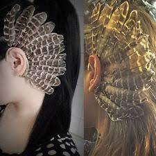 how to make feather ear cuffs feather ear cuff earrings ebay