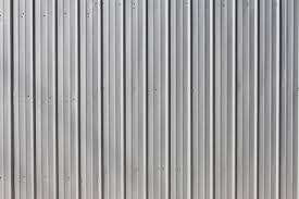 metal deck roof texture