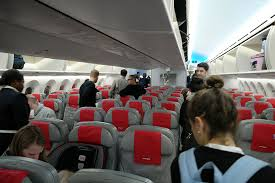 Interior Air Review Norwegian Air 787 Economy Class U2014 New York To London
