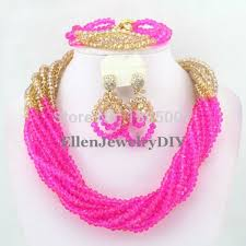 african wedding bead necklace images Aso ebi beads neckwears necklace accessories that makes you jpg