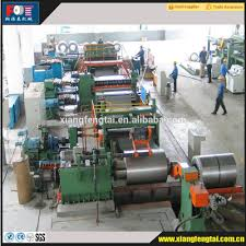 unwinder machine for steel coil slitting and cutting line machine