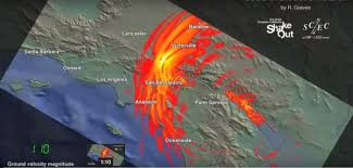 Earthquake Map Los Angeles by Watch What U0027the Big One U0027 On The San Andreas Fault Would Feel Like