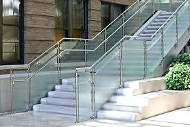Stainless Steel Stairs Design Steel Stair Railing Style Stainless Steel Stair Railings