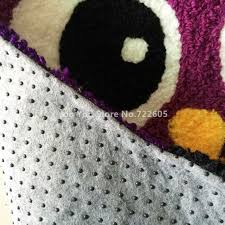 Purple Owl Rug Mat Carpet Picture More Detailed Picture About Free Shipping