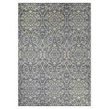 Area Rugs Blue Shop Maples Rugs Blue Green Indoor Area Rug Common 5 X 7 Actual