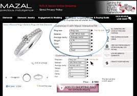 wedding ring prices mazal interactive jpg