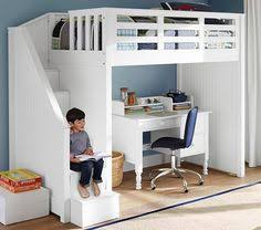 Bed With Stairs And Desk Full Size Heavy Duty Loft Bed With Stair Case Shelf Stair Case