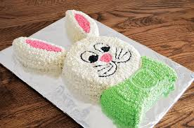 easter bunny cake ideas at home