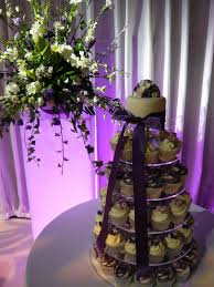 Purple And Silver Wedding Purple And Silver Wedding Cupcakes Charlotte Jane Cakes