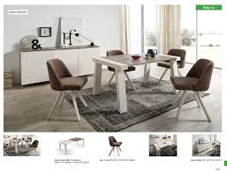 reyna dining room with albi chairs modern formal dining sets