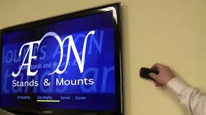 led tv mount slim low profile close to wall tv mount av