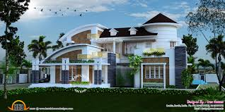 3 bhk slanting roof home keralahousedesigns house for a new home