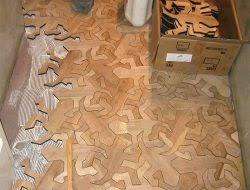 puzzle floor ideas