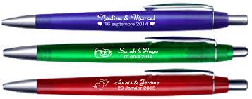 stylo personnalisã mariage stylo mariage pas cher et en quantité